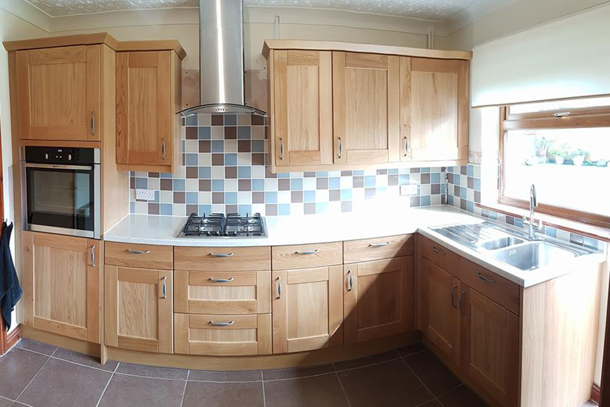 North wales kitchen installations kitchen fitters north for Fitted kitchen quotes