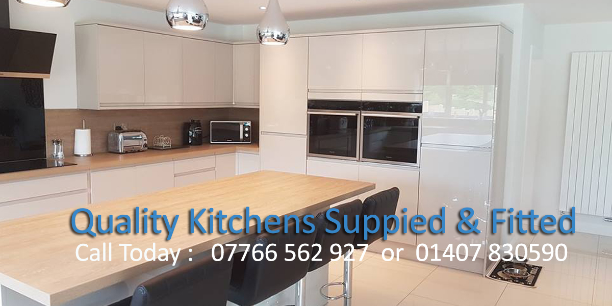 Quality kitchen fitter Anglesey